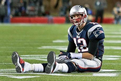 Once again, Tom Brady's season ended in disappointment after a loss in the AFC title game to the Ravens.