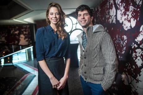 "Costar Analeigh Tipton and writer-director Jonathan Levine, who both have warm memories of the Boston area, visited the Liberty Hotel recently to promote ""Warm Bodies,"" which stars Teresa Palmer and Nicholas Hoult as a young woman and a zombie whose relationship offers a post-apocalyptic spin on ""Romeo and Juliet."""