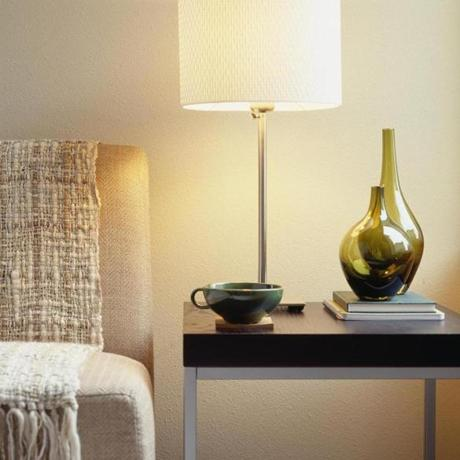 """Lamps make a room feel more cozy, intimate, moody,"" says Belmont interior designer Mark Haddad."