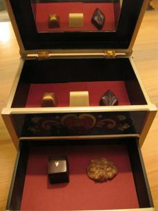 The jewel box of confections.