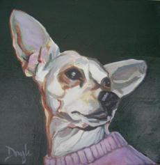 """Nobility"" ""Coastlines and Canines"" an exhibit of paintings by Joanna Doyle, is atthe Firehouse Center for the Arts in Newburyport beginning Wednesday."
