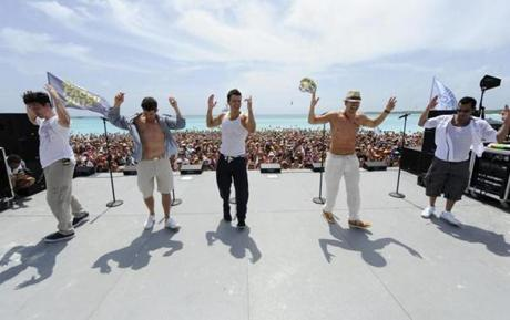 New Kids on the Block Cruise in the Caribbean.