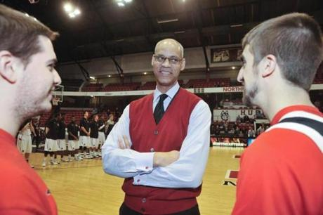 """I feel like a kid in a candy store,"" Peter Roby says of being on the committee that selects the NCAA Tournament field."