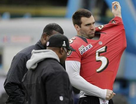 Joe Flacco has been to the playoffs in each of his five NFL seasons.