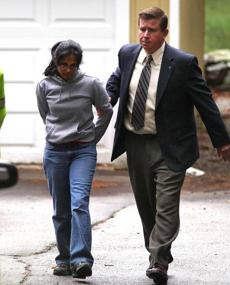 Annie Dookhan was arrested at her Franklin home in September.
