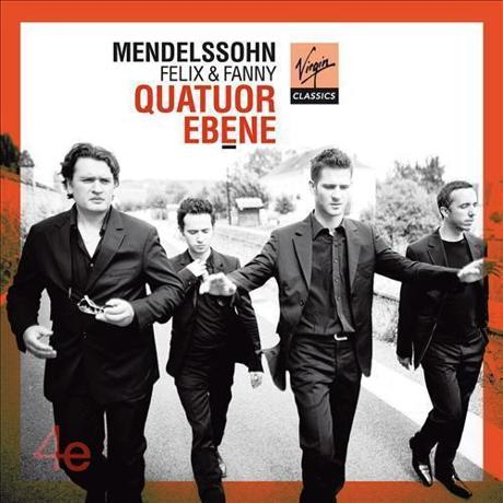 Ebene Quartet, String Quartets by Felix and Fanny Mendelssohn (
