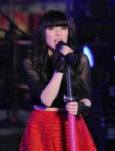 "Carly Rae Jepsen and her hit ""Call Me, Maybe"" are nominated for song of the year."