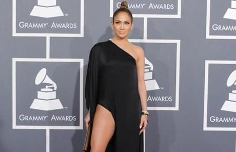 Jennifer Lopez's Anthony Vaccarello gown seemed to be having an identity crisis.