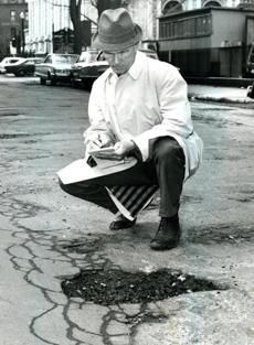 April 28; 1967 / Mayor John F. Collins appointed eleven city inspectors to rove through Boston and check on breakdowns in city services. Armed with a two-page check list, the inspectors roamed through their assigned districts looking to correct problems the city should fix. Potholes, abandoned cars and broken sidewalks were the most frequent violations.
