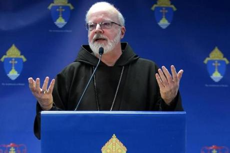 Cardinal Sean P. O'Malley said it is critical for the next pope to continue Pope Benedict XVI's efforts to explain Catholic theology to people living in contemporary secularized culture.
