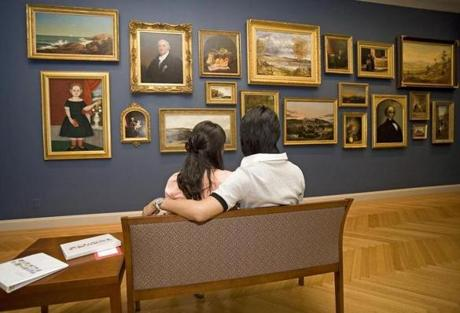 The Currier Museum of Art displays American and European works representing all mediums.