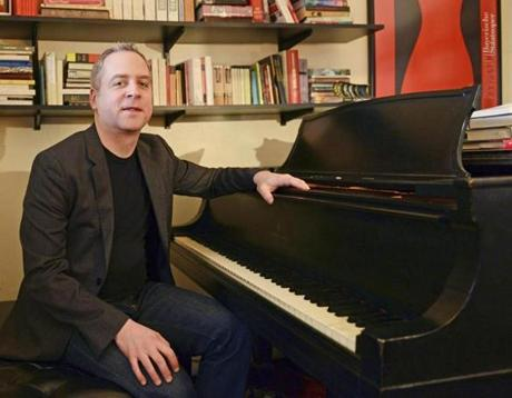 As a blog writer, Jeremy Denk (pictured at his piano in his Manhattan home) often tosses high and low references into a single post or sentence, occasionally skewers the rituals of concert life, and plumbs the details of the music he loves.