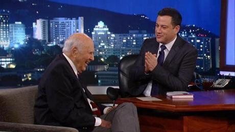 "Carl Reiner on ""Jimmy Kimmel Live."""