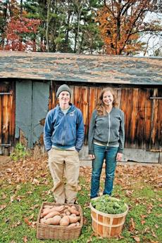 Nate Frigard and Jen Smith own Crimson & Clover Farm, a 300-share CSA.