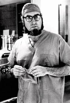 Dr. C. Everett Koop as surgeon-in-chief at Children's Hospital in Philadelphia in 1974.