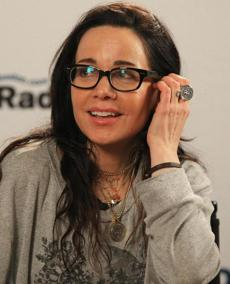 Boston, Massachusetts 03-01-2013 Comedian Janeane Garafolo (cq)