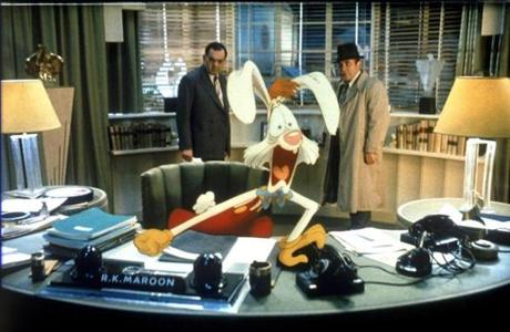 Roger Rabbit (with Bob Hoskins, right) from the 1988 classic.