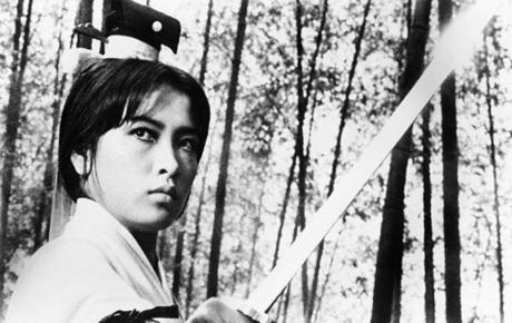 "Hsu Feng as an archetypal King Hu swordswoman in ""A Touch of Zen.''"