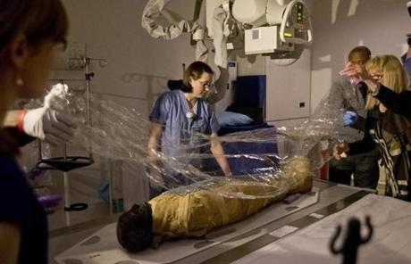 The CT scans tand X-rays will be reconstructed into detailed 3D images.