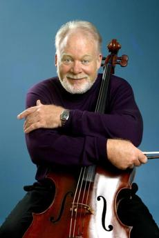 Cellist Lynn Harrell.
