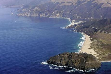 Big Sur, a rugged and isolated stretch of coastline 150 miles south of San Francisco, has notorious riptides.