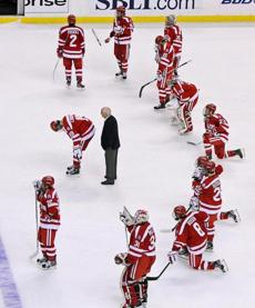 Parker's final appearance in the Beanpot championship game was a loss to York's BC team in 2012.