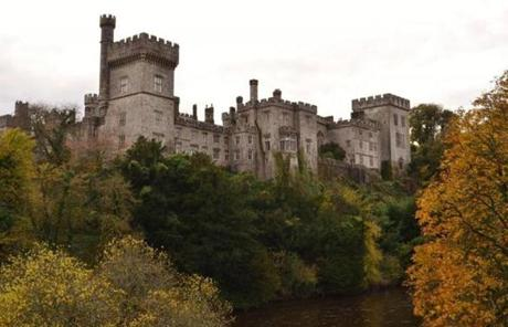 Lismore Castle, County Waterford on the banks of the River Blackwater.