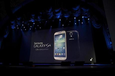 The new phone ships with the latest Android version, Jelly Bean, and will go on sale in the next quarter.