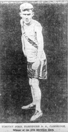The Boston Marathon - Tim Ford won at age 18 in 1906 -- Marathonhistory