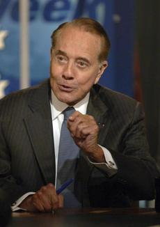 """I thought when I was elected I was supposed to do something,"" said Bob Dole, commenting on his working relationship with the Senate majority leader, Democrat George Mitchell, in 1989."