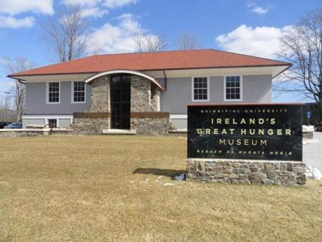 A project of Quinnipiac University in Hamden, Conn., Ireland's Great Hunger Museum is the first in this country dedicated to the Irish famine of 1845-52.
