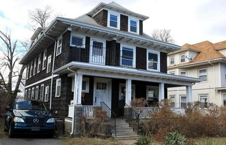 This home on Beach Street in Quincy was listed at $459,000 and sold for $485,000 after spending 68 days on the market.