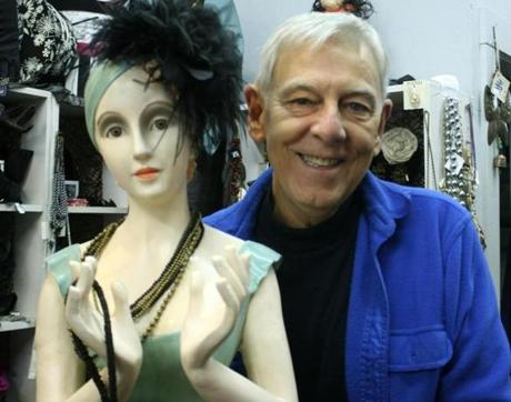 Milliner Bill Graham sells his fascinators in his Salem-based shop Beautiful Things.