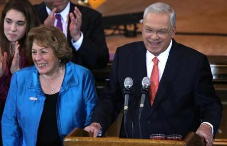 """Over the past few months, I have been weighing my own place in Boston's bright future,"" Menino said."