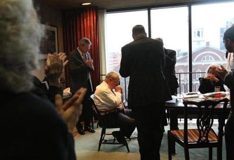 Mayor Thomas M. Menino let his staff know on March 28 that he will not seek reelection.