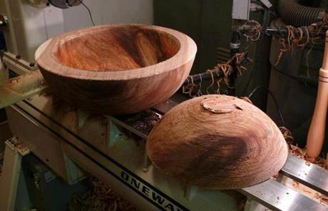 The Rhode Island Historical Society is leading an effort to use the tree in pieces of craftsmanship and art.
