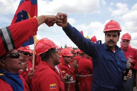 Nicolas Maduro is the late Hugo Chavez's successor.