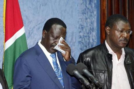 Prime Minister Raila Odinga accepted defeat.