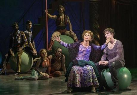 "Andrea Martin (with Matthew James Thomas in ""Pippin"") won outstanding musical performance by an actress."