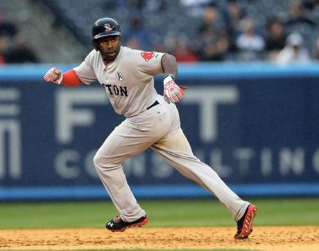 Jackie Bradley has had a meteoric rise through the Red Sox organization. Drafted in 2011, he arrived in Red Sox spring training in 2013 as a prospect, but left as a member of the starting lineup.