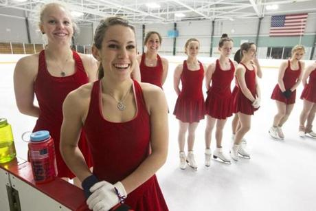The Haydenettes are campaigning to make synchronized skating an Olympic sport. It is the only designated skating discipline not sanctioned by the Olympics.