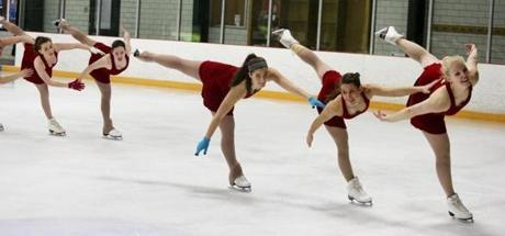 The Haydenettes are a world-renowned synchronized skating team made up of 20 skaters based in Lexington.