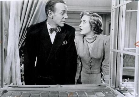 "Powell starred opposite Fred Astaire in ""Royal Wedding."""