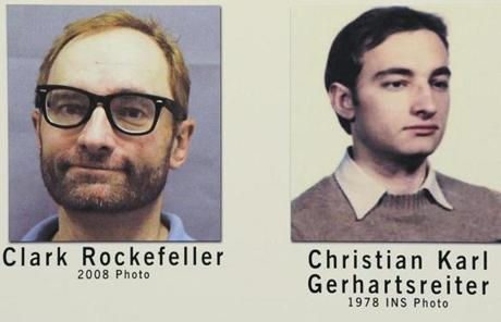 Gerhartsreiter was  known as Clark Rockefeller when he was charged with kidnapping his daughter off a Boston street in 2008.