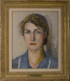 """Brenda"" by Walt Kuhn is part of the permanent collection at the Ogunquit Museum of American Art."