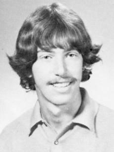 Stephen Lynch in his 1973 South Boston High School yearbook.