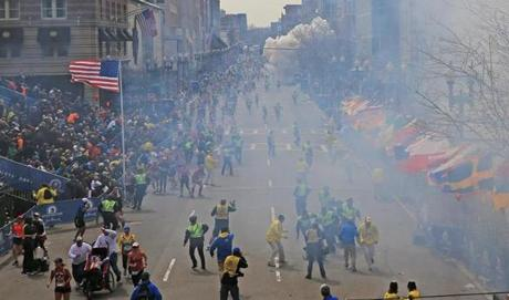 The blasts left an indelible image on the Boston Marathon, which will likely be forerver changed by Monday's tragedy.