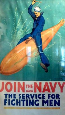 Newport developed torpedoes for the Navy -- and they proved a powerful recruiting tool.