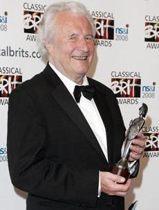 Colin Davis held a Classical BRIT award.