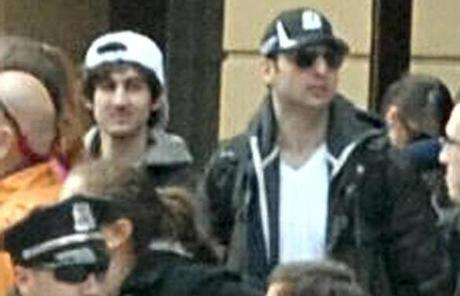 "Dzhokhar A. Tsarnaev was known as the ""white hat"" suspect. The ""black hat"" suspect - his brother - died in a shoot-out with the police."